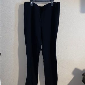 Black womens workpants size 14